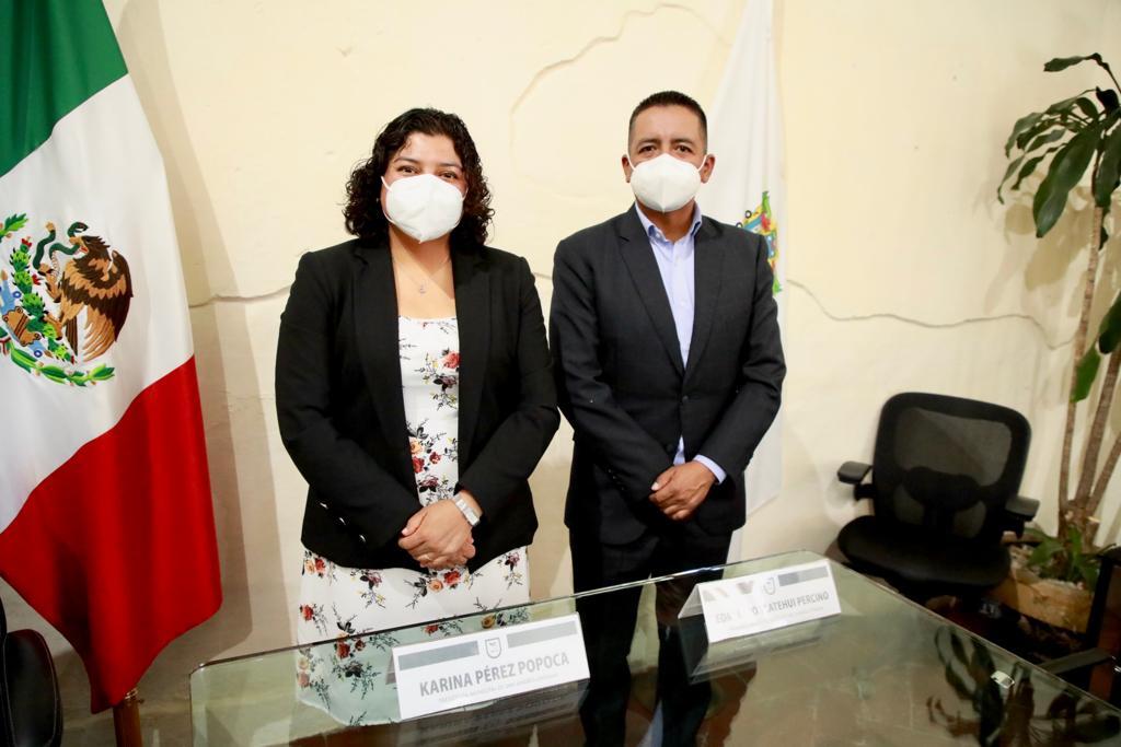 Presidenta municipal de San Andrés dará seguimiento a proceso entrega-recepción