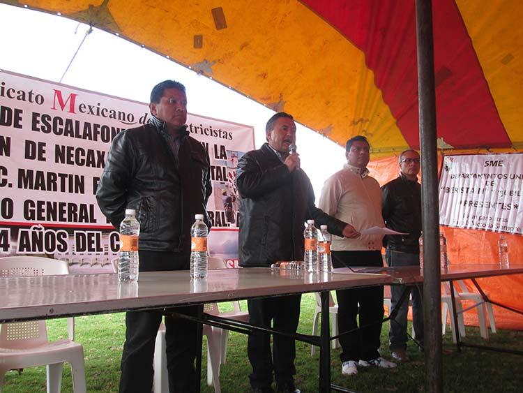 Anuncia SME conformación de nuevo partido político nacional