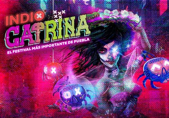 Llegará Festival Catrina 2019 a Puebla