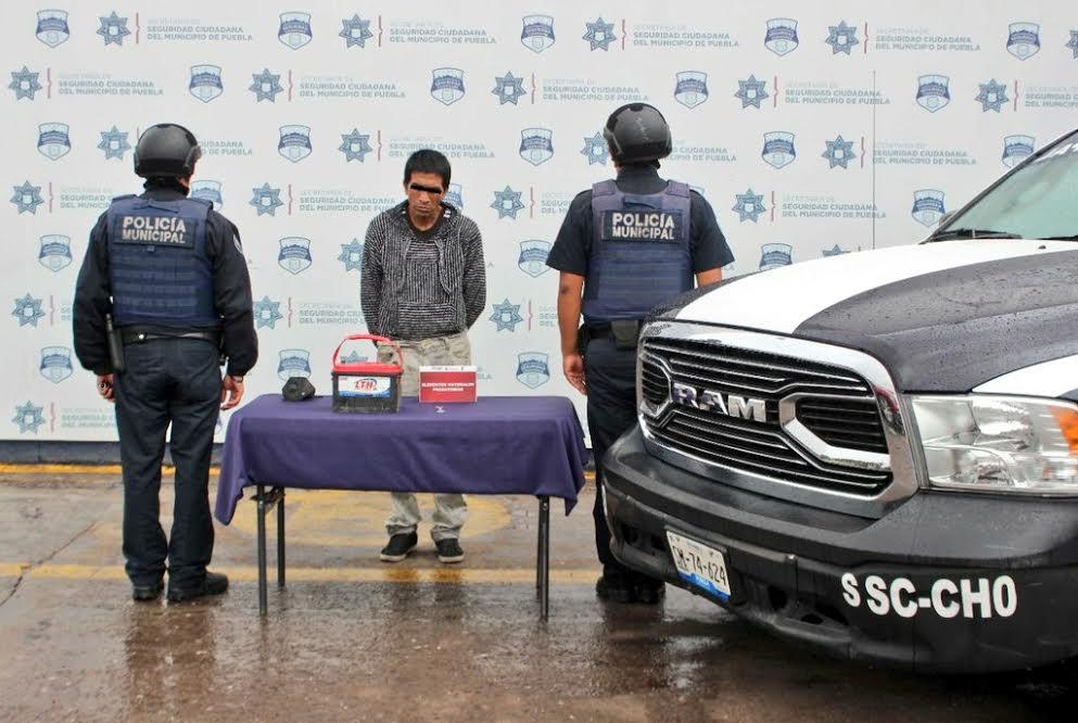 Se dedicaba a robar autos VW-Sedán en el centro histórico