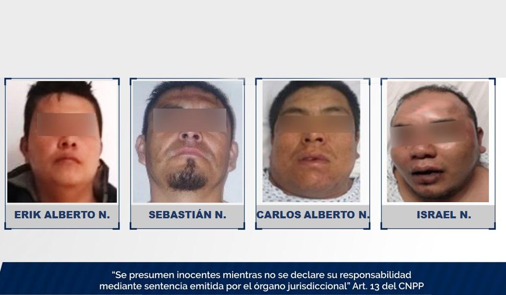 Roban 170 mil pesos de zapatería de Tehuacán pero caen de su moto y los atrapan
