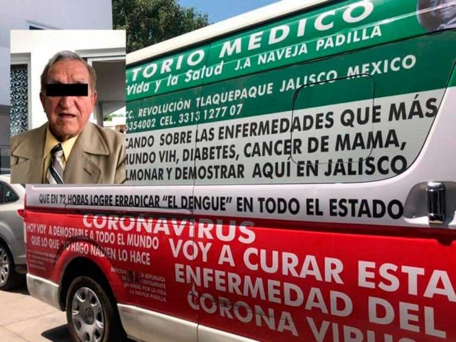 Detienen a falso médico que aseguraba curar el COVID19