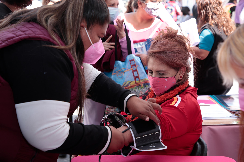 Este lunes inicia Feria de la Salud por las Mujeres en el zócalo de Puebla