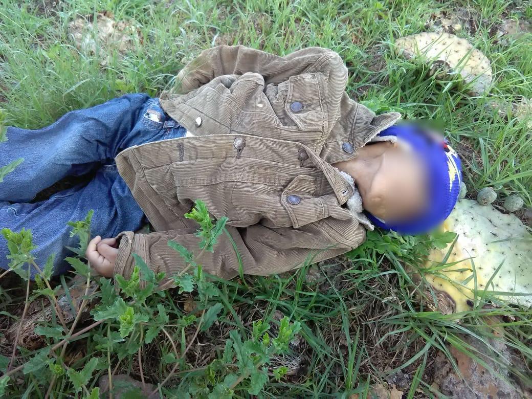 Estrangulado encuentran a menor de 4 años en Chiapa