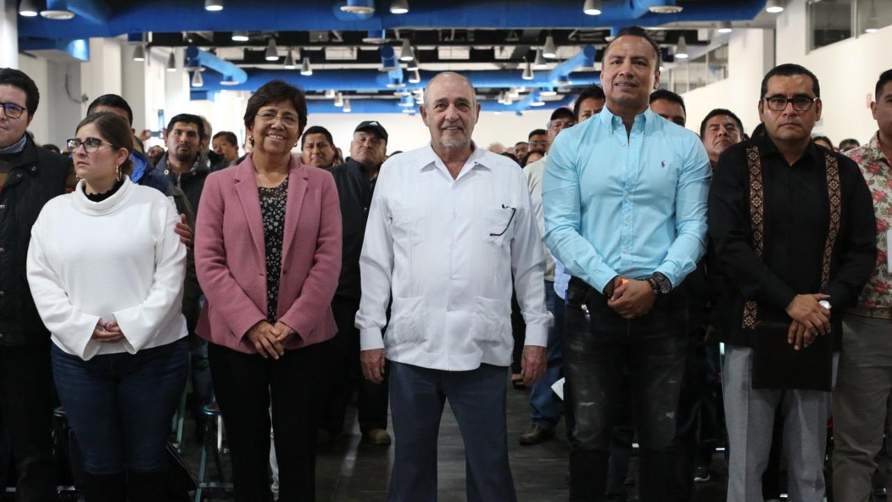 Celis Aguirre es designado presidente electo del MAP y va por el registro como partido