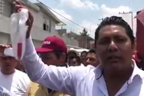 VIDEO: Le disparan al candidato de Morena a la alcaldía de Acajete