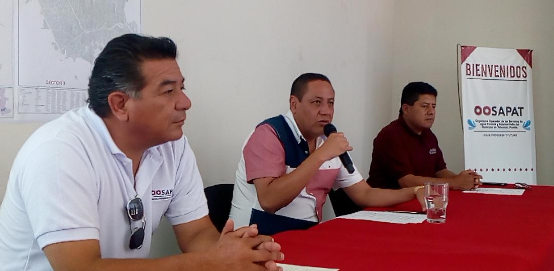 Habrá reducción en distribución de agua en 54 colonias en Tehuacán