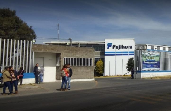 Roban cajeros en la empresa Fujikura, en Puebla
