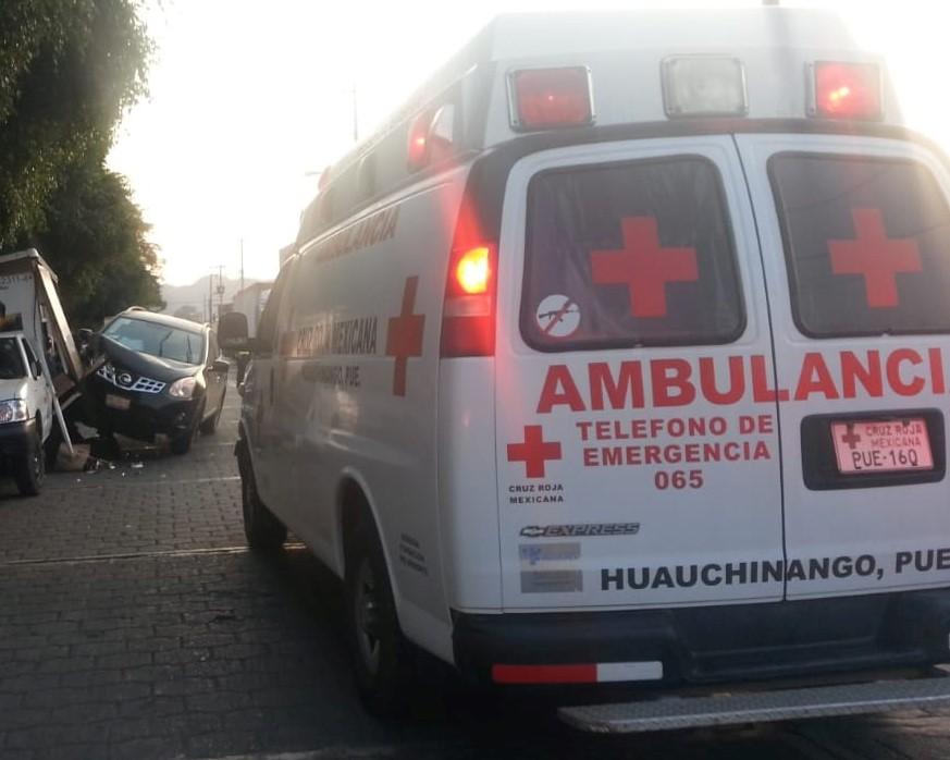 Cruz Roja no atiende sin presencia de la policía en Huauchinango