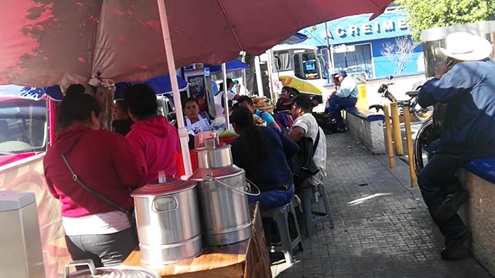 Retirarán a vendedores de alimentos insalubres en Tehuacán