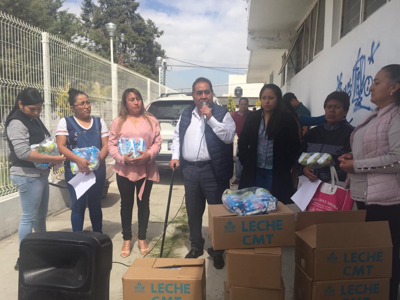 Estafadores intentan lucrar con programas sociales en Amozoc