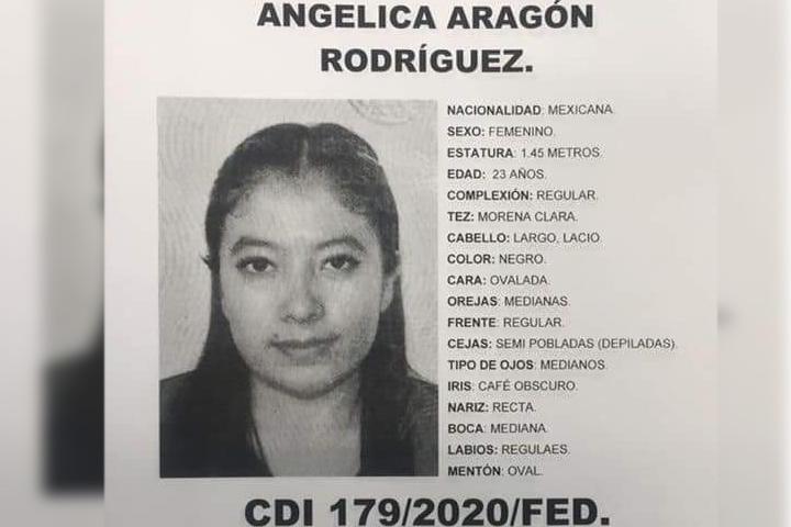 Angélica, fue vista por última vez en el Centro Histórico
