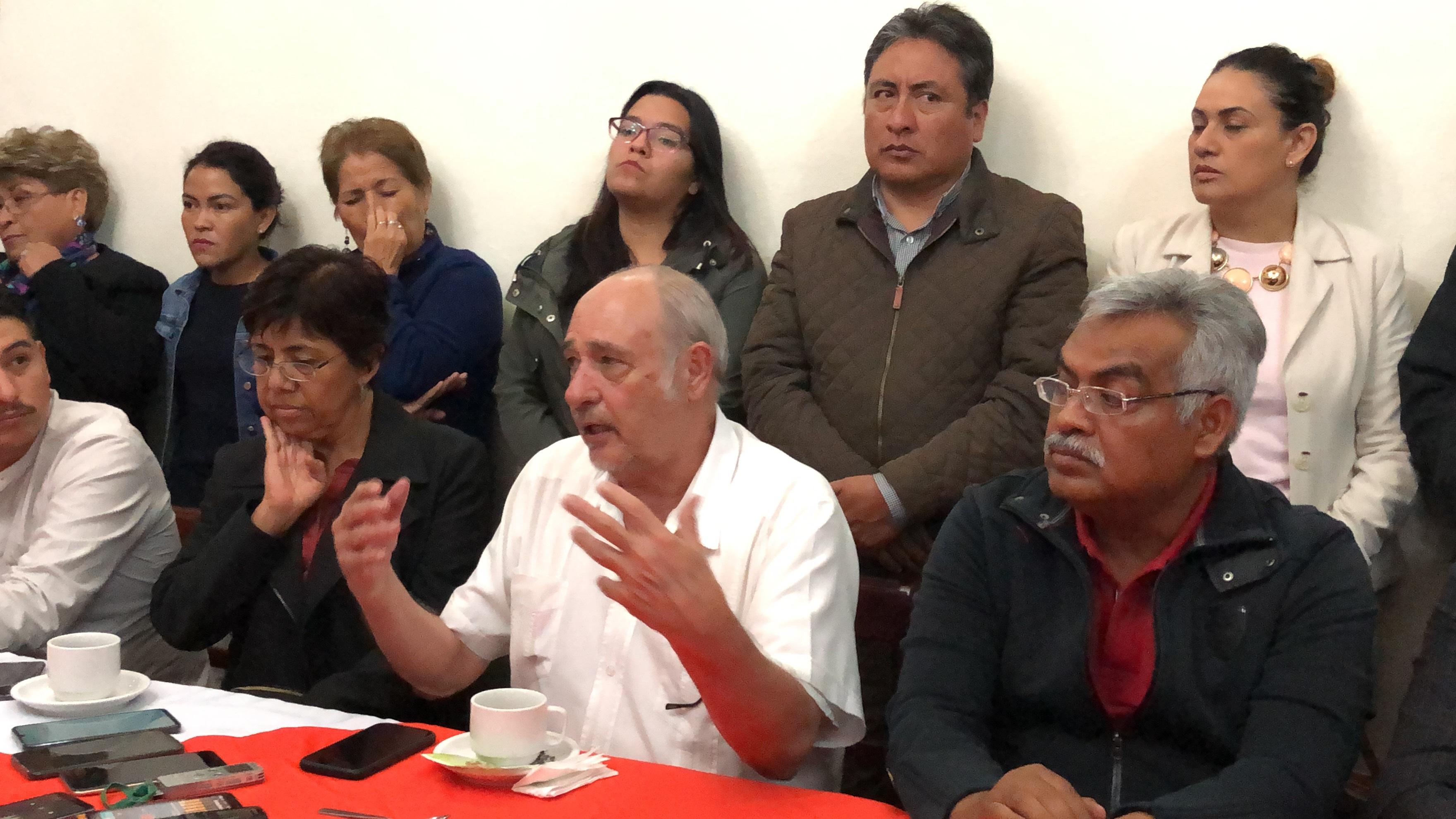 Antorcha Campesina defenderá su registro como partido, advirtió
