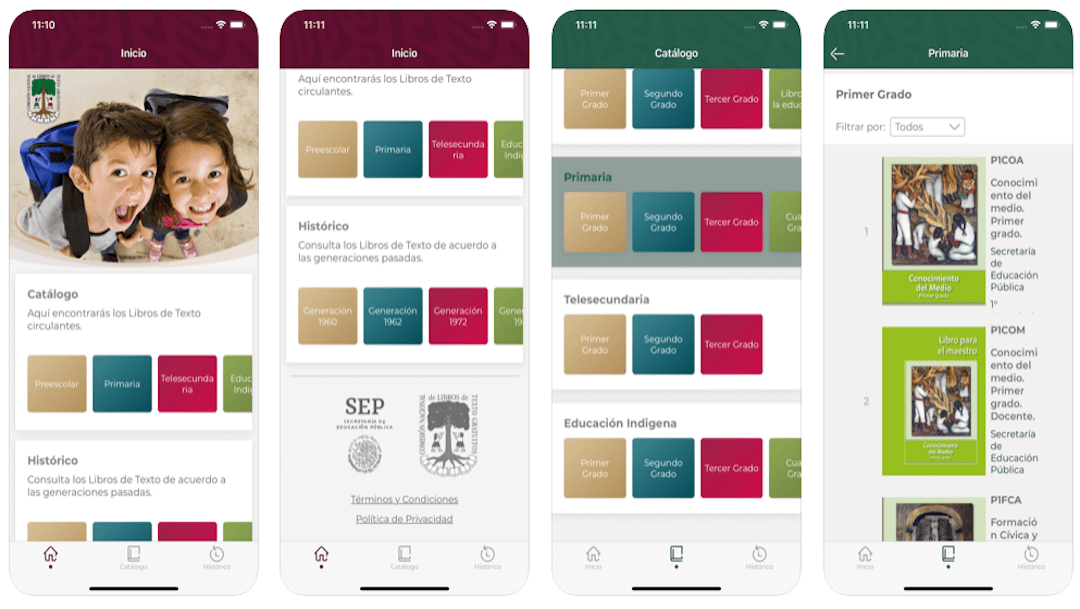 Presenta la SEP aplicación para ver libros de texto en el celular