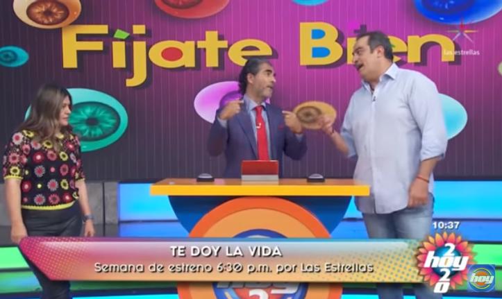 VIDEO Omar Fierro se regaña y golpea a Araiza en pleno programa