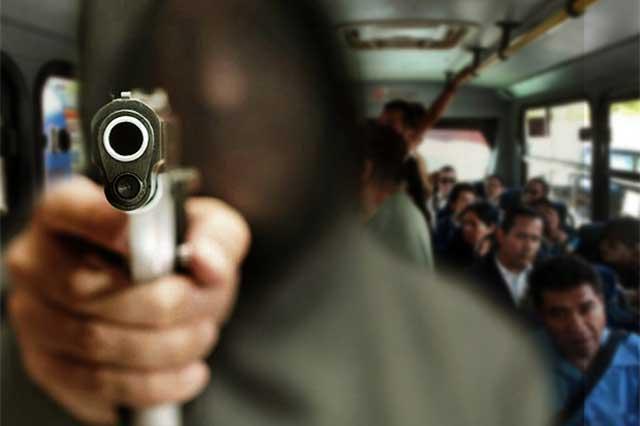 Sujetos armados asaltan Ruta 100 Amozoc en el Parque Industrial