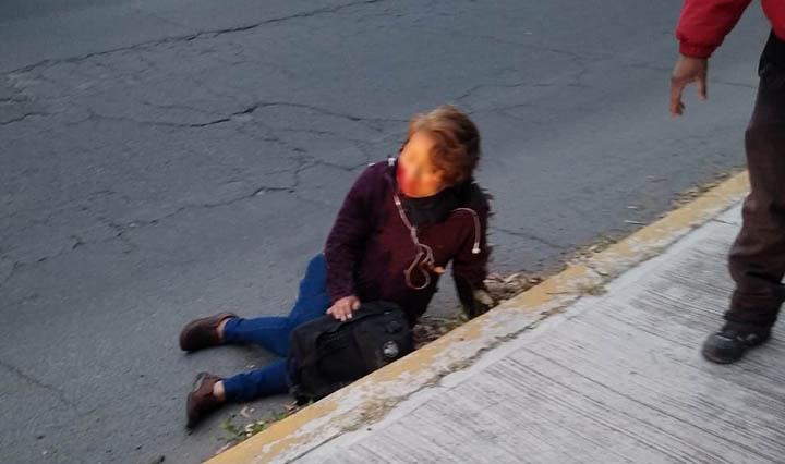 Mujer se avienta del Cree-Madero para no ser asaltada