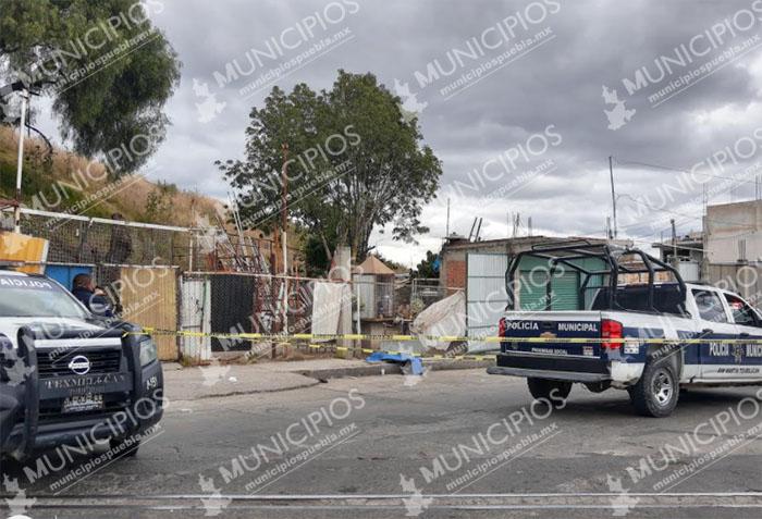 Abuelito fallece en calles de Texmelucan; la ambulancia nunca llegó