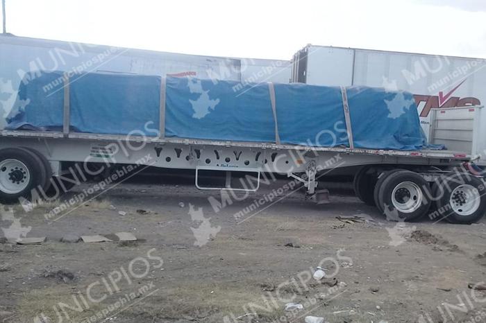 Ejército detiene a ladrones de tractocamiones en Tecamachalco