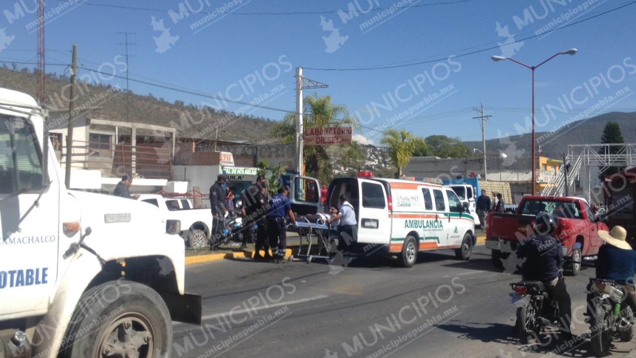 Por asalto, arman balacera en el centro de Tecamachalco