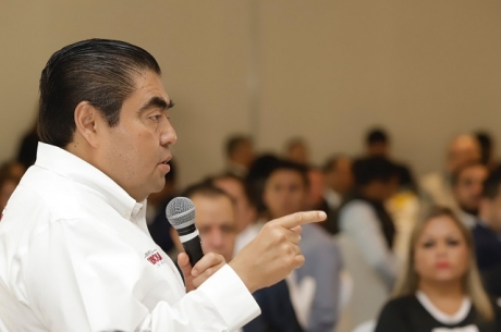 Se analizará continuidad del conector industrial en Huejotzingo: Barbosa