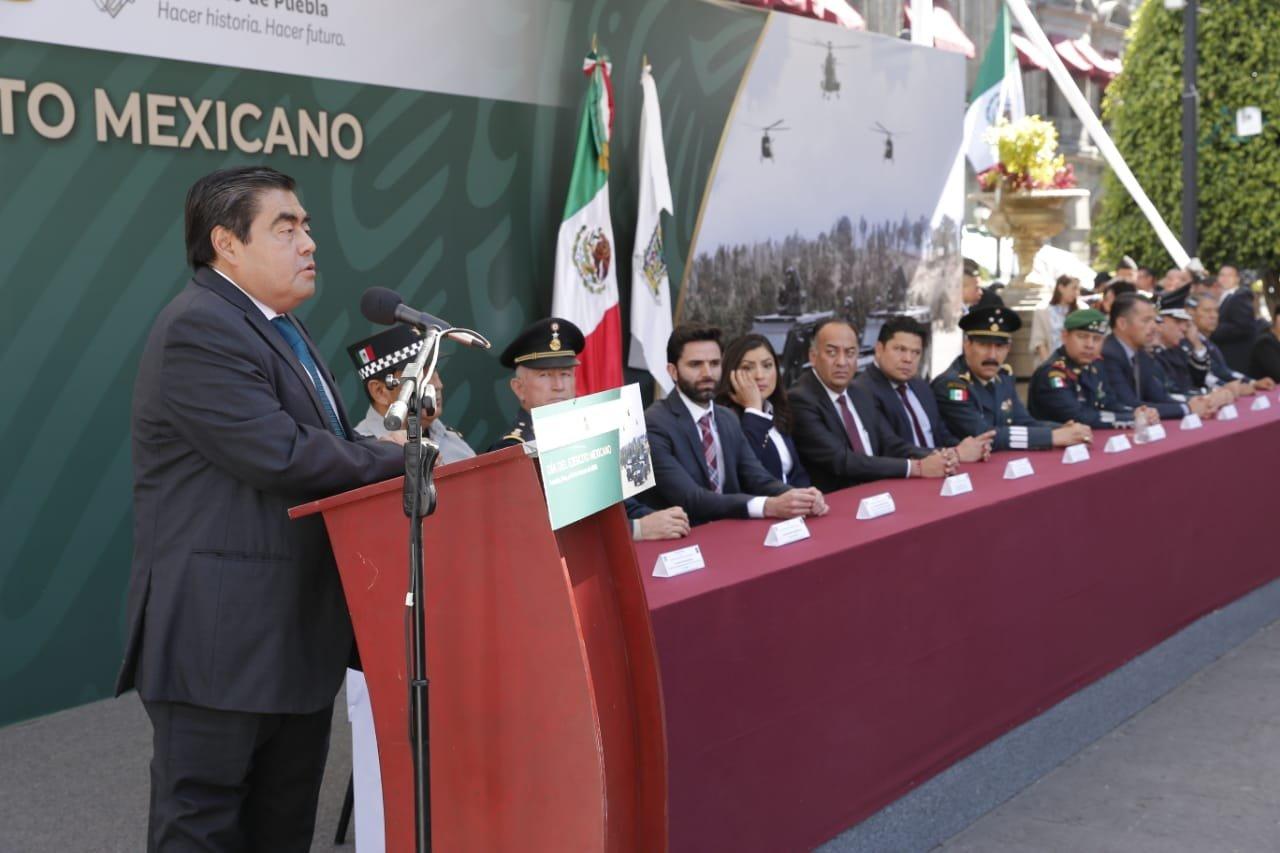 Asiste Barbosa a Veracruz para conmemorar Tratados de Soledad