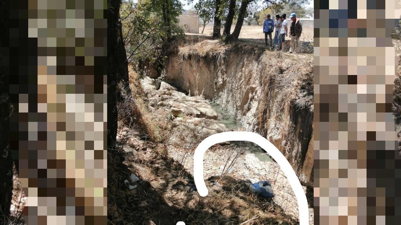 Hallan cuerpo de masculino al fondo de un barranco en Chachapa