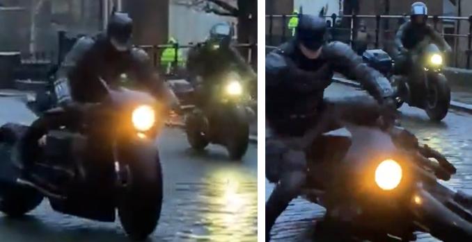 VIDEO Filtran caída de Batman en rodaje de nueva película