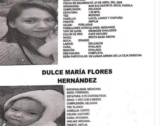 Monserrat y su bebé desaparecieron en El Seco; ayuda a encontrarlas
