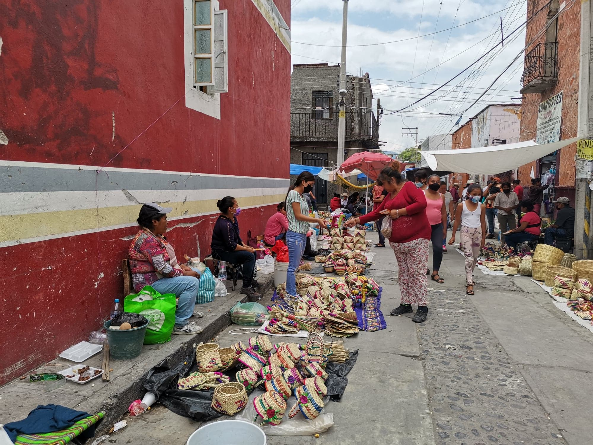 Covid redujo trueque en la Fiesta de la Cambia de Chietla