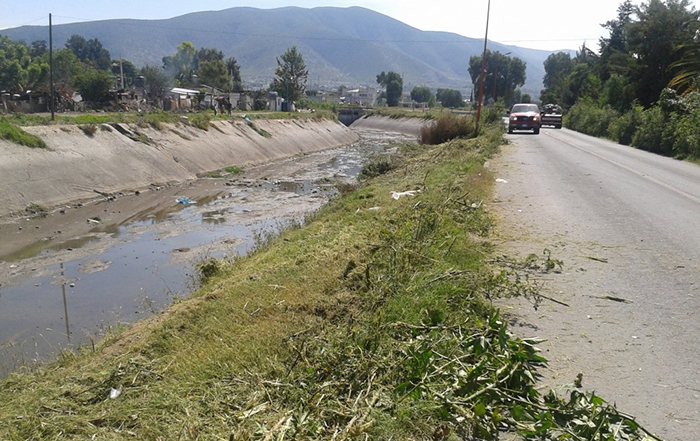 Hallan embolsado en el canal de Valsequillo de Tecamachalco