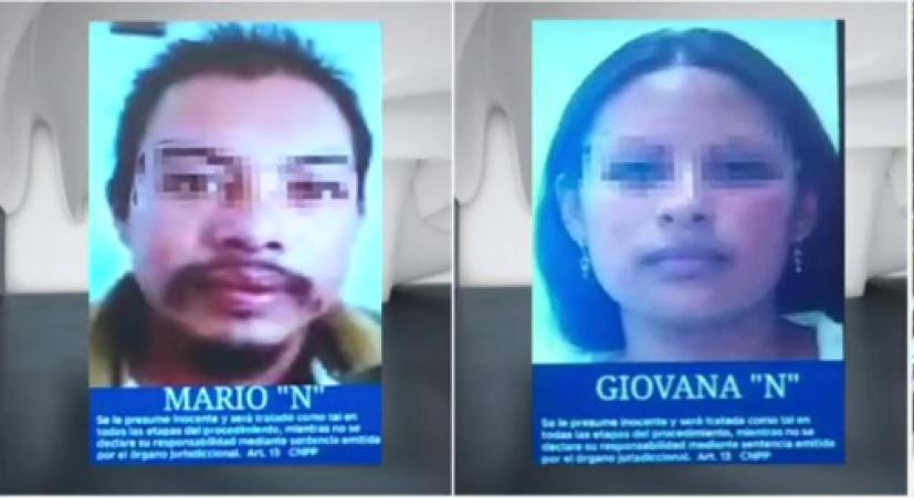 La Fiscalía busca a Giovana y Mario por el atroz asesinato de Fátima