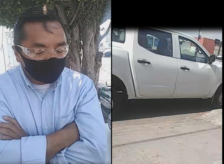 VIDEO Denuncian a sujeto que perseguía a jovencita en calles de Puebla