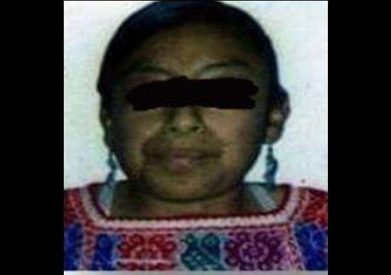 Indígena y discapacitada, a Carmen la mató su esposo en Huehuetla