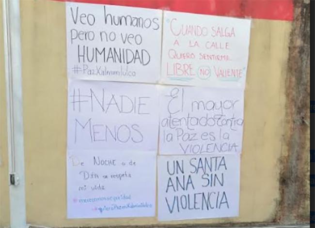 En Xalmimilulco exigen a gobierno de Huejotzingo cese de violencia