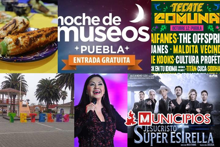 Cartelera: No te pierdas de ninguna de las actividades en Puebla