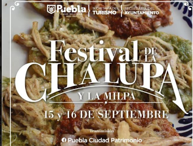 Promueve Ayuntamiento de Puebla tradición de la chalupa en festival virtual