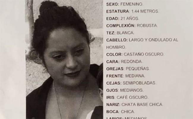Ana Paola desapareció en la Romero Vargas desde enero