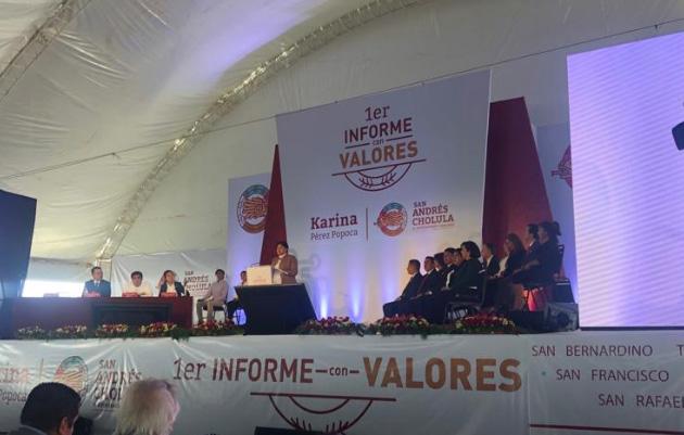 Barbosa con cargo o sin él, tiene mi lealtad: Pérez Popoca