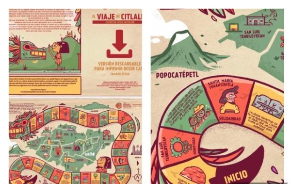Crean el juego Viaje de Citlalli para conocer cultura de San Andrés Cholula