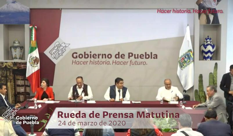 VIDEO 30 casos positivos de COVID19 en Puebla; 2 reportados por el IMSS