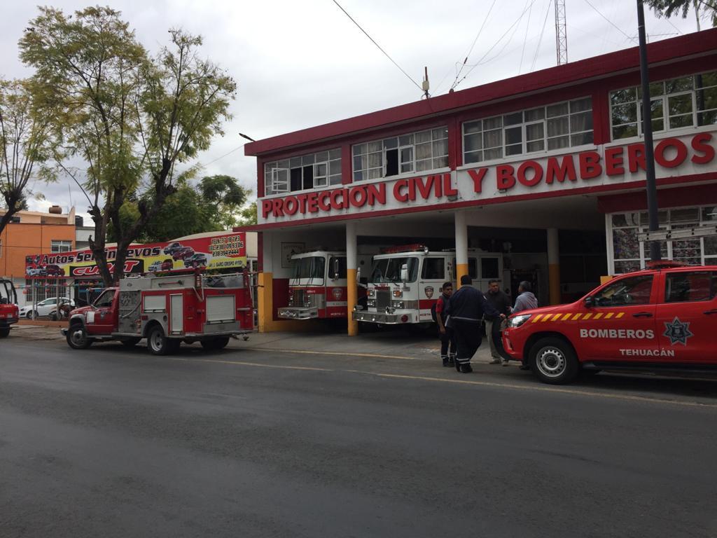 Bomberos de Tehuacán acumulan carencias aniversario tras aniversario