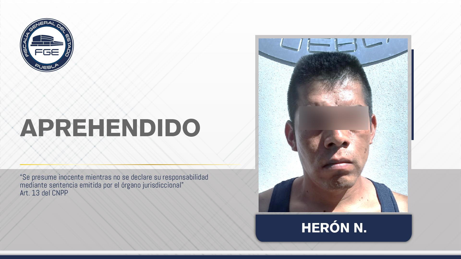 Cae sujeto que mató a tres turistas en Cuetzalan