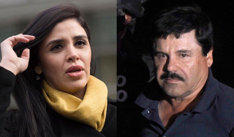 Emma Coronel disfruta de libertad, mientras El Chapo sigue en prisión