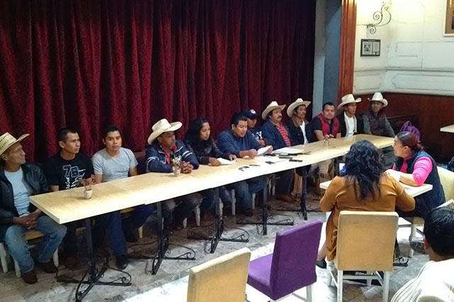 En puerta 14 denuncias contra opositores  a hidroeléctrica