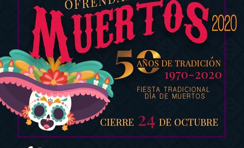 Con fotos suplirán ofrendas para muertos en Casa de Cultura de Puebla