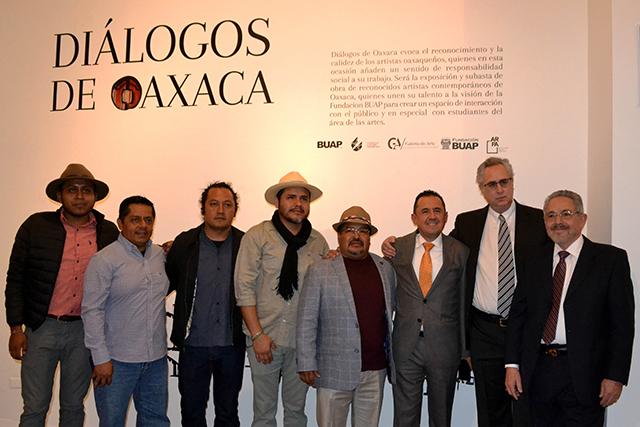Arte oaxaqueño en Puebla apoya programas sociales de la Fundación BUAP
