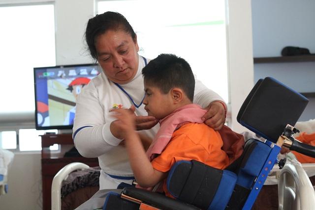 Refuerza SEDIF medidas sanitarias en casas de asistencia en Puebla