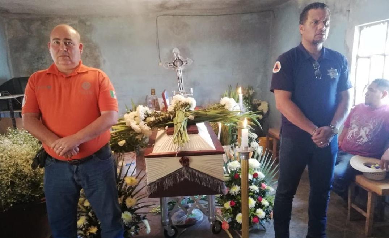 Rinden honor en Atlixco a don Goyo por su labor en materia de Protección Civil