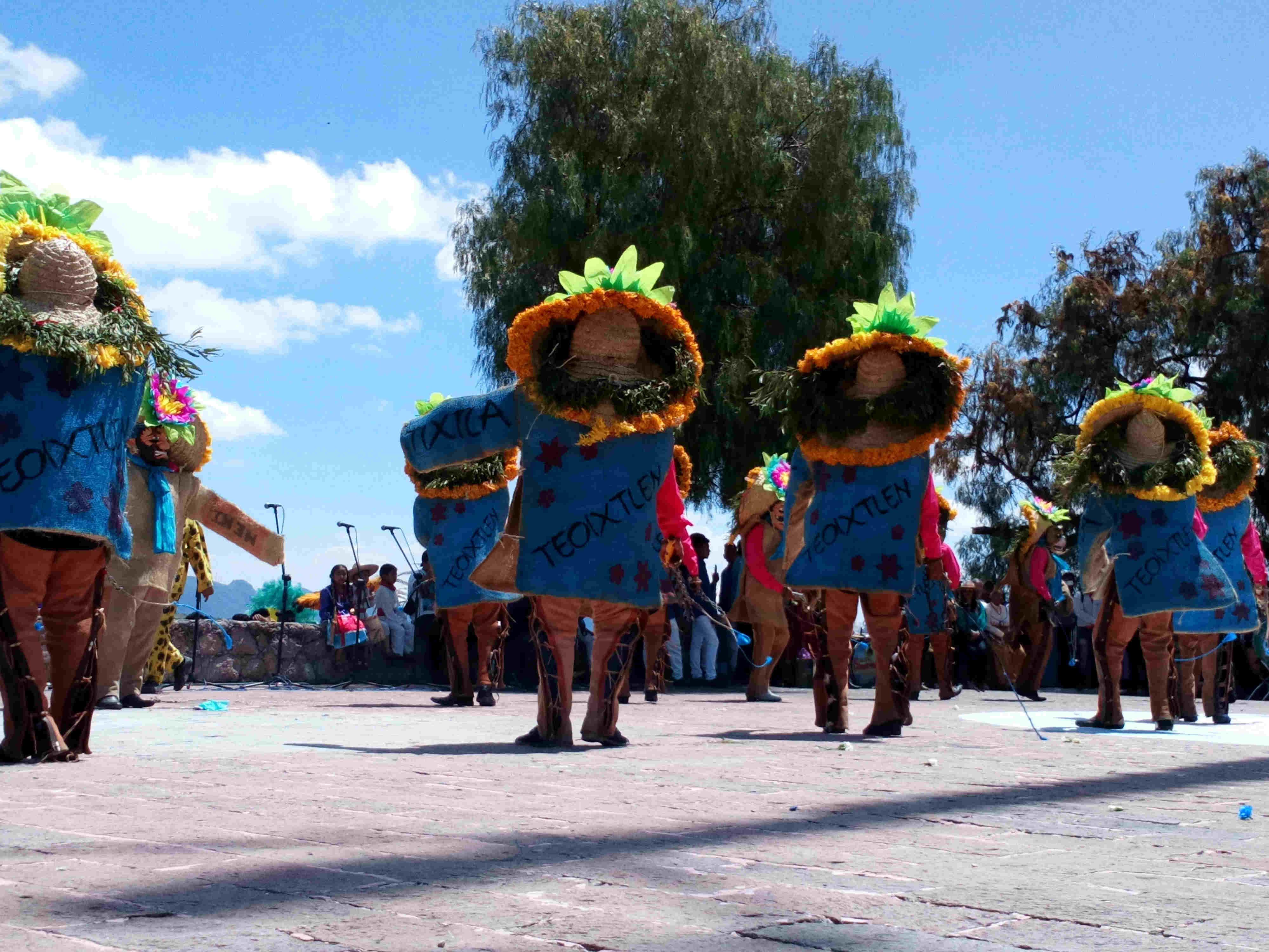 En Atlixco celebran el tradicional Atlixcayotontli